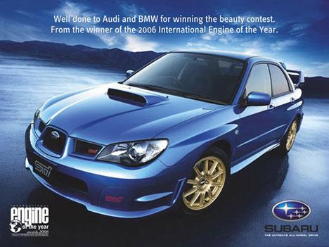 Subaru Werbung