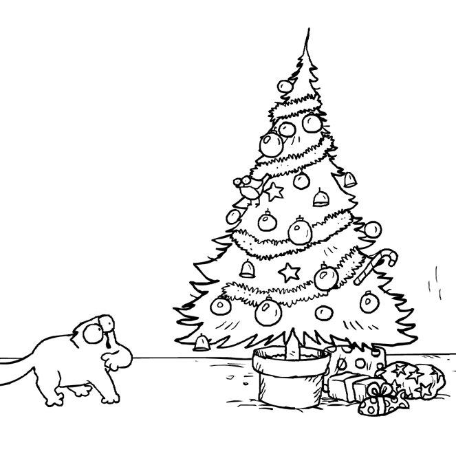 weihnachten mit simon s cat cartoonland de. Black Bedroom Furniture Sets. Home Design Ideas